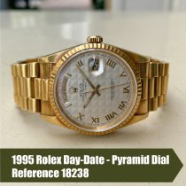 Rolex Day-Date 36 Yellow gold 36mm White No numerals United States of America, Florida, Coral Gables