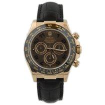 Rolex Daytona Rose gold 40mm Brown Arabic numerals United States of America, California, Fullerton