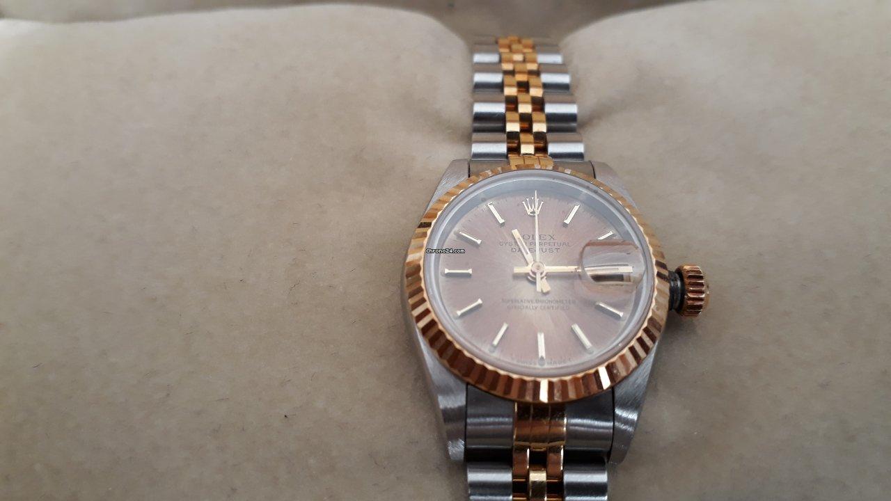 Rolex Lady-Datejust 69173 1989 novo
