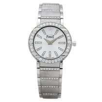 Piaget Polo pre-owned 28mm Silver White gold