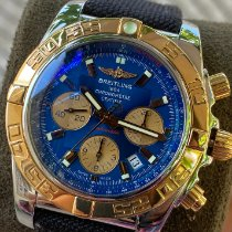 Breitling Chronomat 44 Gold/Steel 44mm Blue No numerals United States of America, New York, BROOKLYN