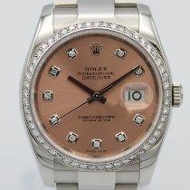 Rolex Datejust Steel 36mm Pink
