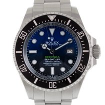Rolex Sea-Dweller Deepsea Stål 44mm Ingen tall