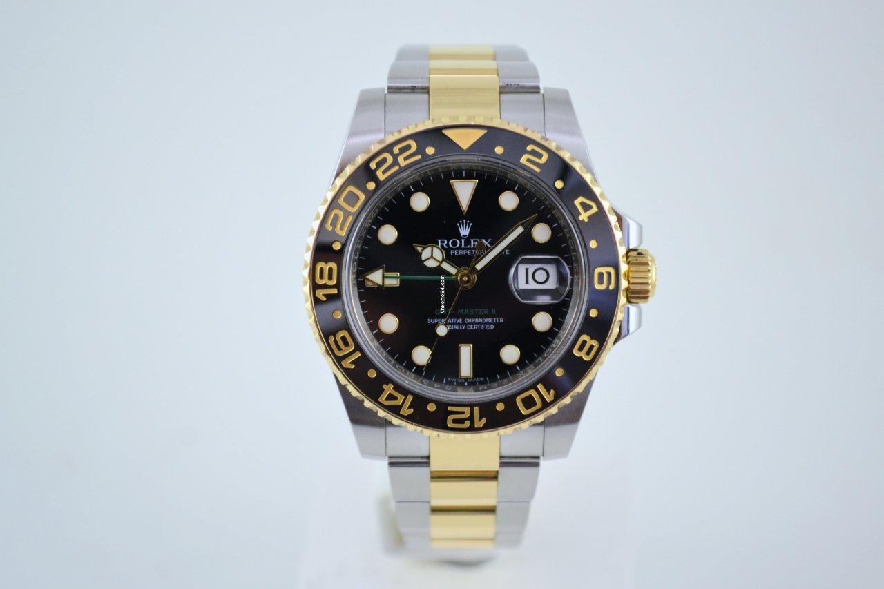 Rolex GMT-Master II 116713LN 2014 tweedehands