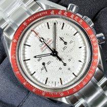 Omega Speedmaster Date nuevo 2021 Cuerda manual Cronógrafo Reloj con estuche y documentos originales 522.30.42.30.06.001