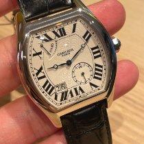 Cartier Tortue Белое золото 38mm Cеребро