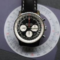 Breitling Navitimer 1 B01 Chronograph 43 Acero 43mm Negro Sin cifras