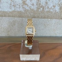 Cartier Panthère Gelbgold 22mm Weiß Römisch Deutschland, Wiesbaden