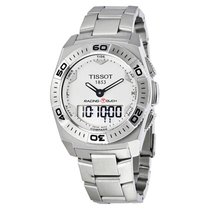 Tissot Racing-Touch Steel 43mm White Arabic numerals