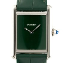 Cartier nové Quartz 25mm Ocel Safírové sklo