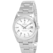 Rolex Oyster Perpetual Date Steel 34mm White Roman numerals United States of America, New York, Hartsdale