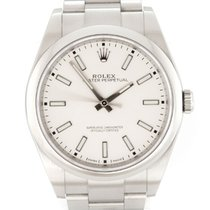 Rolex Oyster Perpetual 39 Acero 39mm Plata