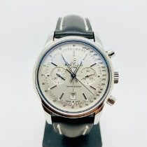 Breitling Transocean Chronograph 38 Staal 38mm Zilver