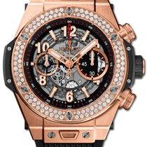 Hublot Big Bang Unico nowość 2021 Automatyczny Chronograf Zegarek z oryginalnym pudełkiem i oryginalnymi dokumentami 411.OX.1180.RX.1104