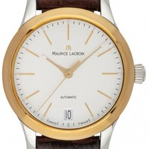 Maurice Lacroix Les Classiques Date Gold/Stahl 33mm Silber Deutschland, Schwabach