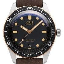 Oris 01 733 7707 4354-07 5 20 55 Steel 2021 Divers Sixty Five 40mm new