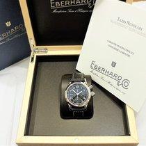 Eberhard & Co. Tazio Nuvolari Steel 42mm Black Arabic numerals