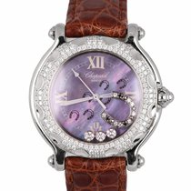 Chopard Happy Sport Steel 32mm Mother of pearl Arabic numerals United States of America, New York, Smithtown