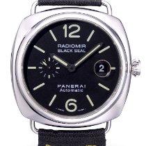Panerai Radiomir Black Seal Staal 45mm Zwart Arabisch