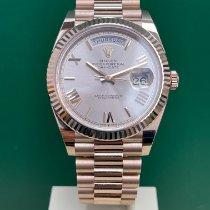 Rolex Day-Date 40 228235 Mai indossato Oro rosa 40mm Automatico