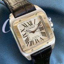 Cartier Santos 100 2878 Ottimo Acciaio 33mm Automatico Italia, Eur (RM)