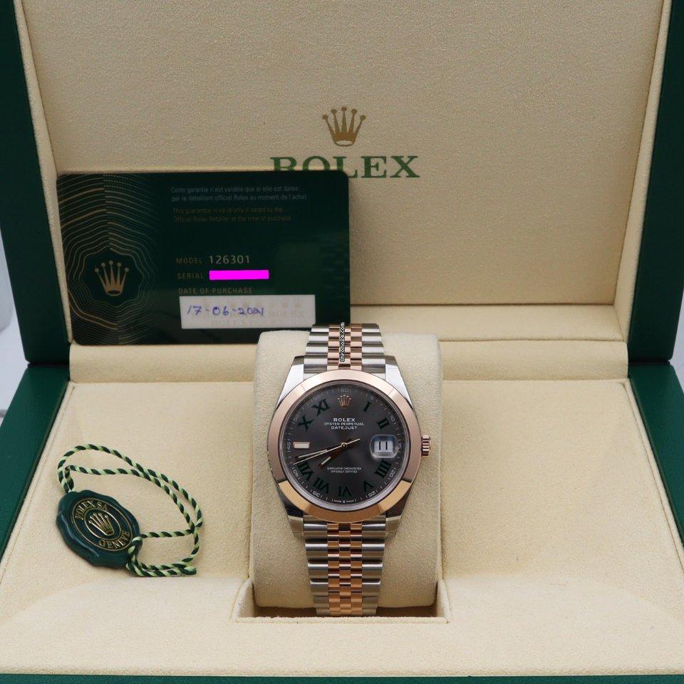 Rolex Datejust 2021 new