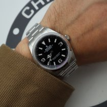 Rolex new Automatic Luminous hands Screw-Down Crown 36mm Steel Sapphire crystal