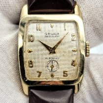 Gruen Gold/Steel 26mm Automatic Gruen Style 887 Cal. 480 pre-owned United States of America, Illinois, Roscoe