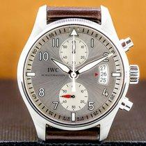 IWC Pilot Spitfire Chronograph Steel 43mm Arabic numerals United States of America, Massachusetts, Boston