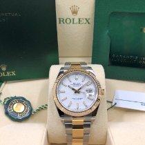 Rolex Datejust Gold/Steel 41mm White No numerals United States of America, Illinois, Springfield