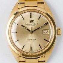IWC Yacht Club Aur galben 36.1mm