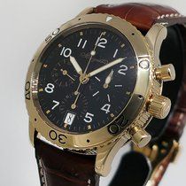 Breguet Rose gold Automatic Black Arabic numerals 39.5mm pre-owned Type XX - XXI - XXII