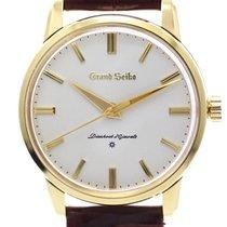 Seiko Ouro amarelo Corda manual Prata 36mm usado Grand Seiko