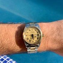 Rolex Datejust Acero y oro 36mm Oro Sin cifras México, Roma