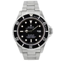 Rolex pre-owned Automatic 40mm Black Sapphire crystal Over 120 ATM