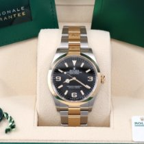 Rolex Explorer Gold/Steel 36mm Black Arabic numerals United States of America, California, Los Angeles