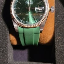 Bulova pre-owned Automatic 36mm Green Sapphire crystal