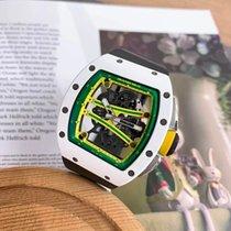 Richard Mille RM 061 Keramika 51mm Průhledná Bez čísel