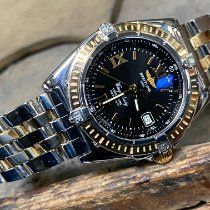 Breitling Wings Lady Gold/Steel Black Roman numerals
