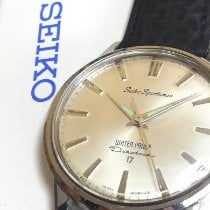 Seiko 4509683 Gut Stahl 37mm Handaufzug