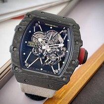 Richard Mille RM 035 RM35-01 Muito bom Carbono 49.94mm Corda manual