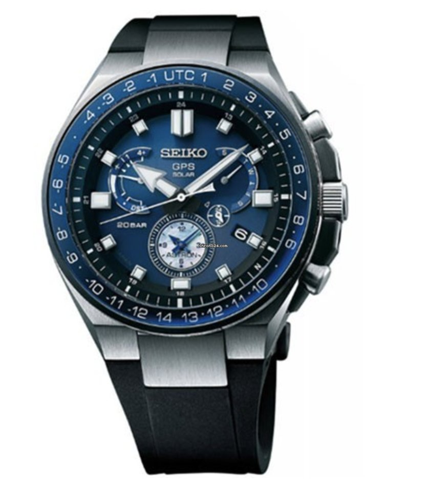 Seiko Astron GPS Solar Chronograph SSE167J1 2021 nuevo