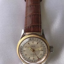 Oris Big Crown Pointer Date pre-owned 32mm Date Leather