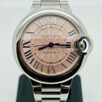 Cartier Ballon Bleu 33mm W6920100 Very good Steel 33mm Automatic