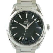 Omega Seamaster Aqua Terra nuevo 2021 Automático Reloj con estuche y documentos originales 220.10.41.21.10.001