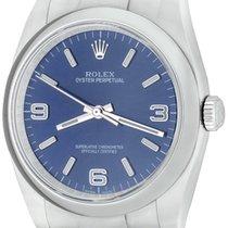 Rolex Oyster Perpetual 36 Steel 36mm Blue Arabic numerals United States of America, Texas, Dallas
