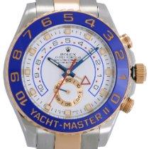 Rolex Yacht-Master II Gold/Steel 44mm White No numerals
