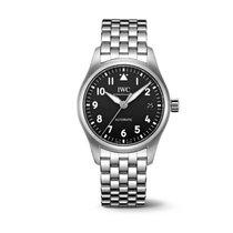 IWC Pilot's Watch Automatic 36 Acero 36mm Negro Arábigos