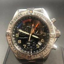 Breitling Transocean Chronograph Сталь Черный