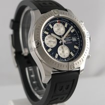 Breitling Colt Chronograph Automatic Staal 44mm Zwart